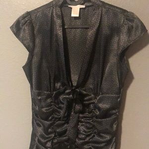 Charlotte Russe Tops - Silky feeling stylish dress top